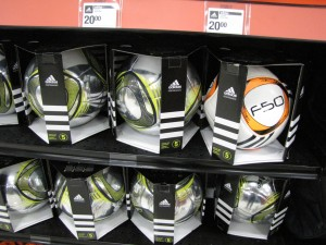 commercial soccer balls